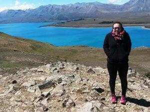 Hoch oben auf dem Mount John beim Lake Tekapo