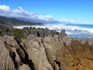 Rauhe Küsten und einzigartige Felsformationen - Die Pancake Rocks
