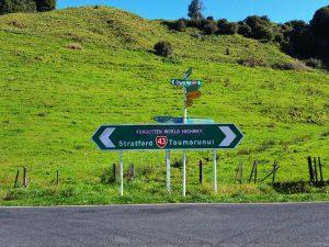 Straßenschild am Forgotten Highway