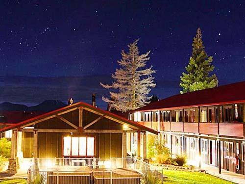 Tongariro Budget Hotel Neuseeland