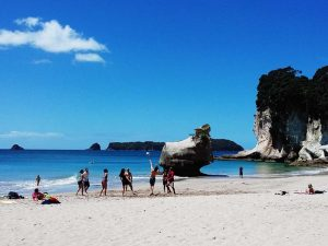 Gruppenreise Neuseeland - Cathedral Cove