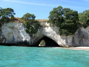 Nordinsel Neuseelands - Cathedral Cove an der Coromandel