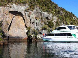 Bootsfahrt auf dem Lake Taupo