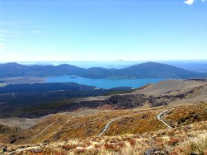 Nordinsel Neuseelands: Landschaft des Tongariro Nationalparks