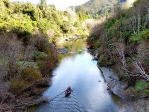 Kajak auf dem Whanganui River