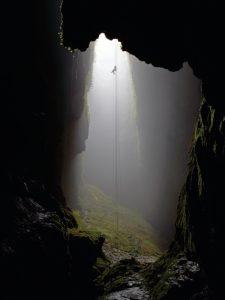 Abseilen in den Waitomo Caves -Neuseeland Gruppenreise