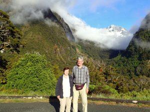 Auf dem Weg zum Milford Sound