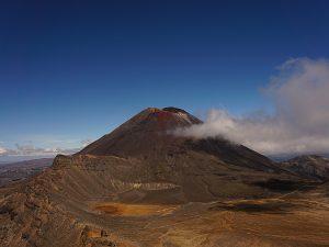 Der Mount Ngauruhoe wurde als Vorlage für den Schicksalsberg genommen - Herr der Ringe Drehorte