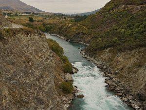 Fluss nahe Queenstown - Herr der Ringe Drehorte