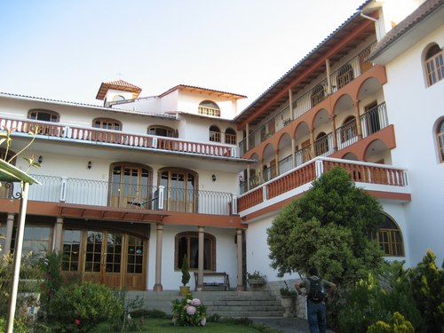 Außenansicht Ihres Hotels in Huaraz