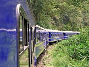 Aktivreise Peru Zug im Heiligen Tal