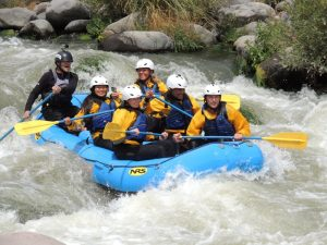 Rafting in Arequipa