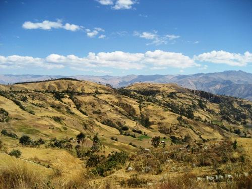 Landschaft um Huaraz