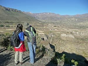 Ausblick Colca Canyon Peru Rundreise 3 Wochen