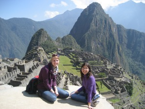 Ausblick Machu Picchu Highlight Peru