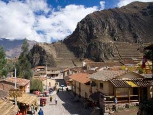 Ollantaytambo im Heiligen Tal in Peru