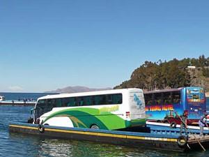 Fähre über den Titicacasee
