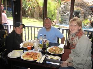 Chachapoyas Mittagessen Touristen Peru