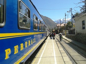 Mit dem Zug zum Machu Picchu