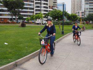 Fahrradtour durch Miraflores bei Peru Aktivreise