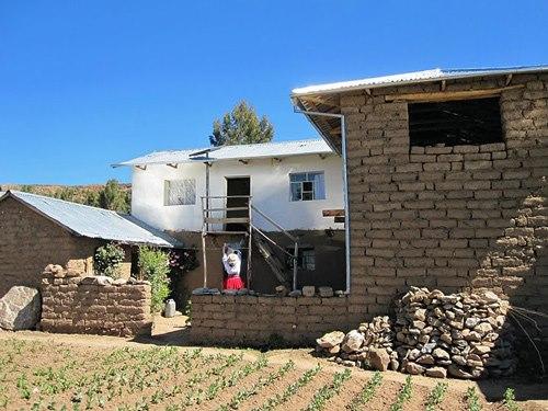 Haus einer Gastfamilie auf Amantani