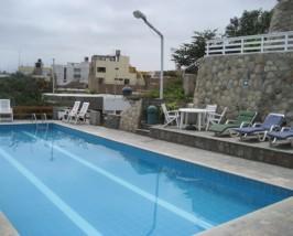 Hotelpool in Huanchaco