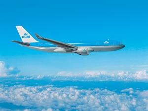 KLM Flugzeug von Peru nach Deutschland