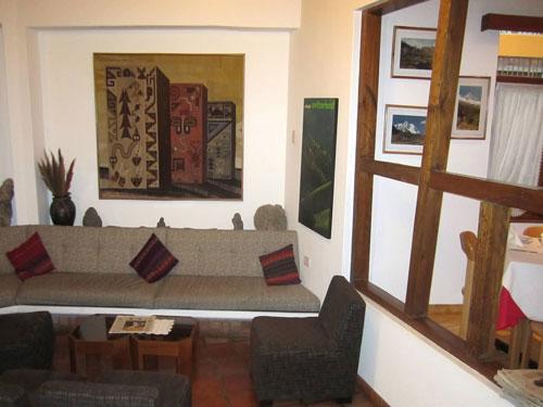 Hotellobby Komforhotel Huaraz
