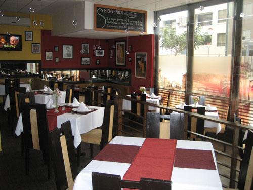 Peru Rundreise Komforthotel Lima Speisesaal