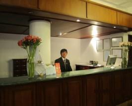 Hotelrezeption Komforthotel Puno