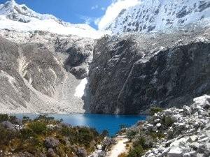 Die Laguna 69 in der Cordillera Blanca