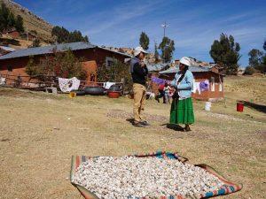 Dorf am Rande des Titicacasees