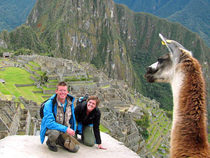 Peru Highlights Rundreise Machu Picchu Lama