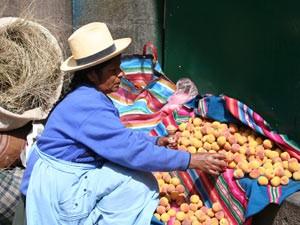 Peru Bolivien Rundreise Markt Cusco