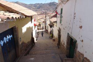 Peru Rundreise 3 Wochen Cusco Gasse