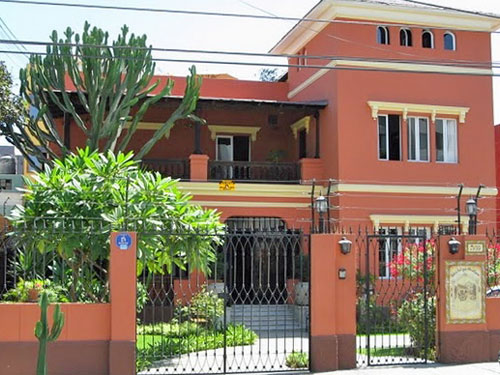 Aussenansicht Special Stay Unterkunft Lima