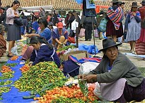 sucre-marktplatz-Tarabuco