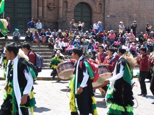 Umzug in Cusco