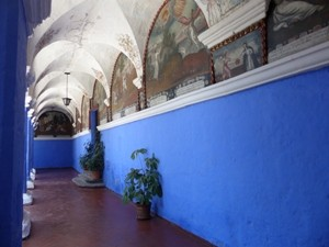Farbenfrohes Kloster Catalina Peru Highlights