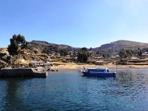 Amantani im Titicacasee