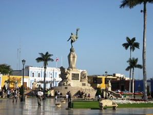Plaza Central Trujillo