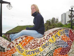 Im Parque del Amor in Lima
