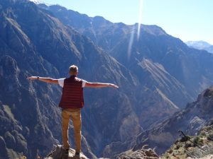 Aussicht am Colca Canyon