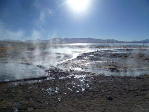Heiße Quellen Uyuni