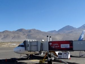 Inlandsflug Peru