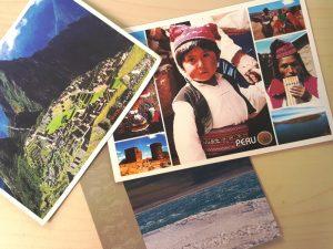 Postkarten aus Peru und Bolivien