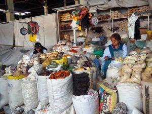 Cusco Marktbesuch Peru Rundreise