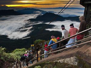 Adam's Peak Sri Lanka - beklimming