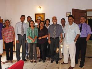 Lokale vertegenwoordiger Sri Lanka