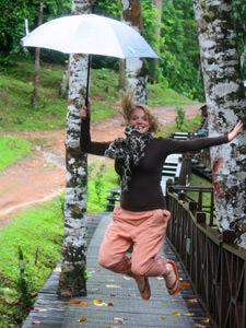 Regen tijdens je reis